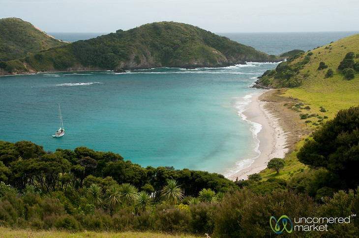 Waewaetorea Island - Bay of Islands, New Zealand