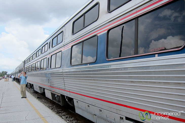 Amtrak Train Travel in Florida - Orlando to Miami