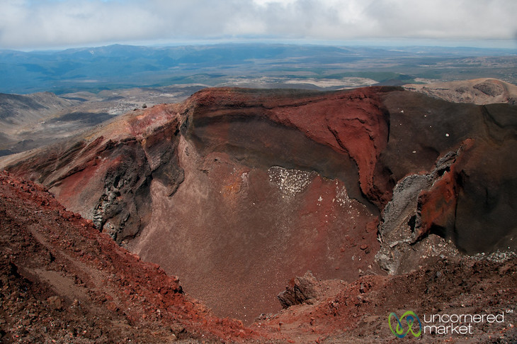 Red Crater - Tongariro Crossing, New Zealand