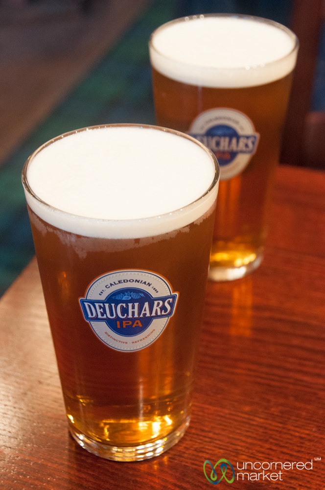 Deuchars IPA, Scottish Beer - Edinburgh, Scotland