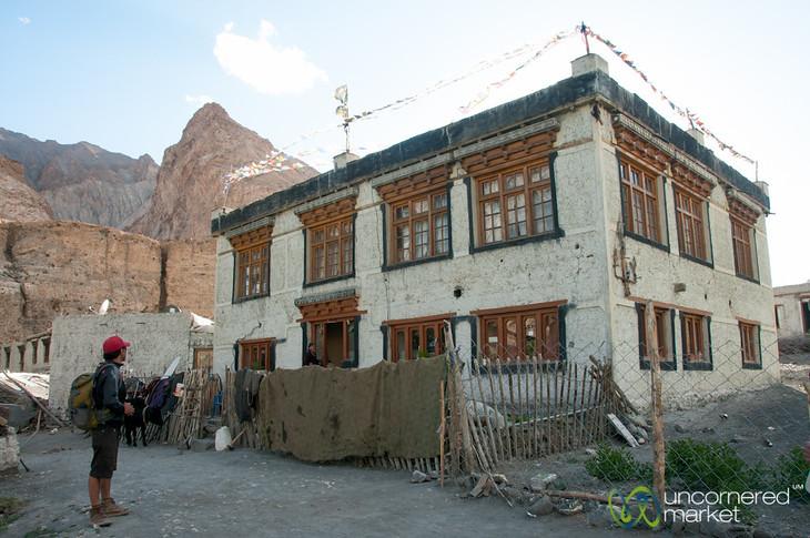 Ladakhi House in Markha Village - Ladakh, India
