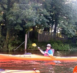 Don kayaking