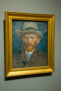 Van Gogh self protrait