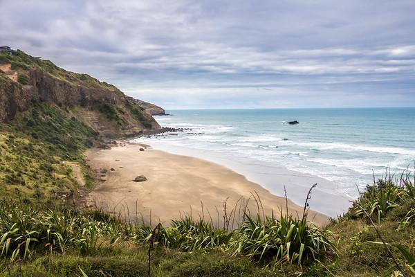 Muriwai Beach, one hour from Auckland, NZ