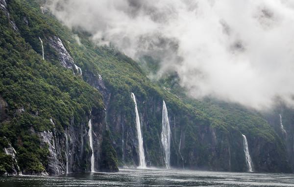 Waterfalls aplenty