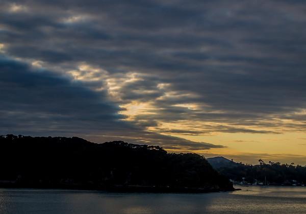 Bay of Islands sunset, Waitangi, NZ
