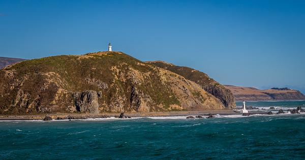 Lighthouse at Wellington harbor, NZ