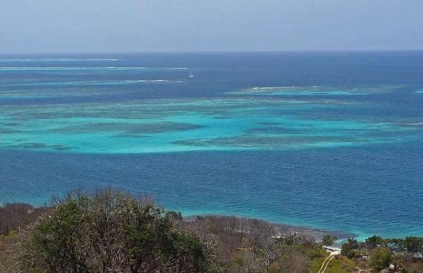 Mayreau island view
