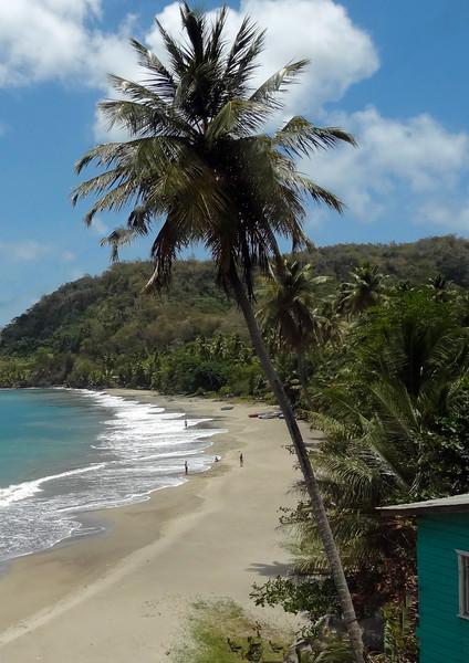 Grenada beach scene