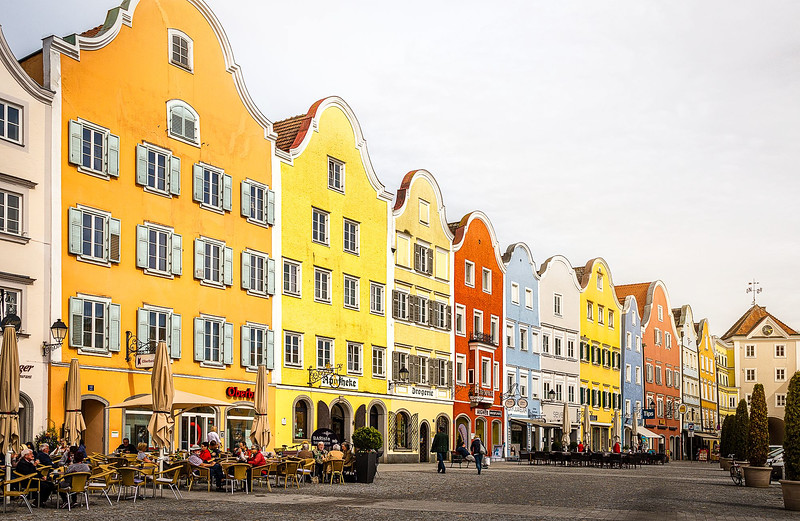 Schärding town square