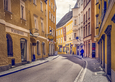 Schärding street