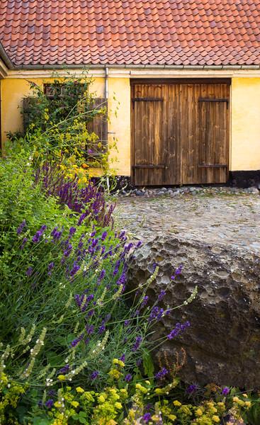 Courtyard, Møn,DK