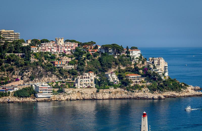 Nice France harbor