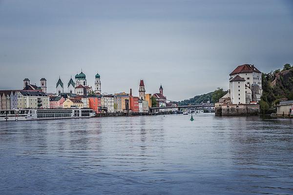 Passau harbor