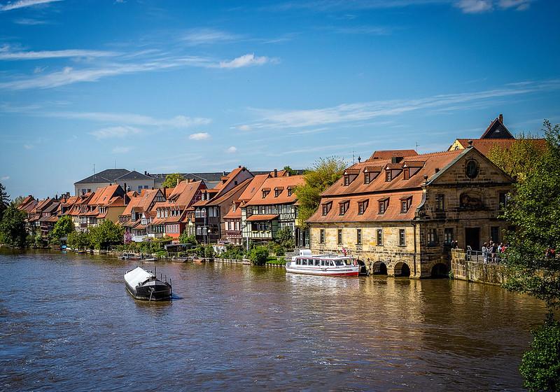 Regnitz River scene