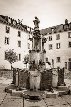 Fountain in Passau