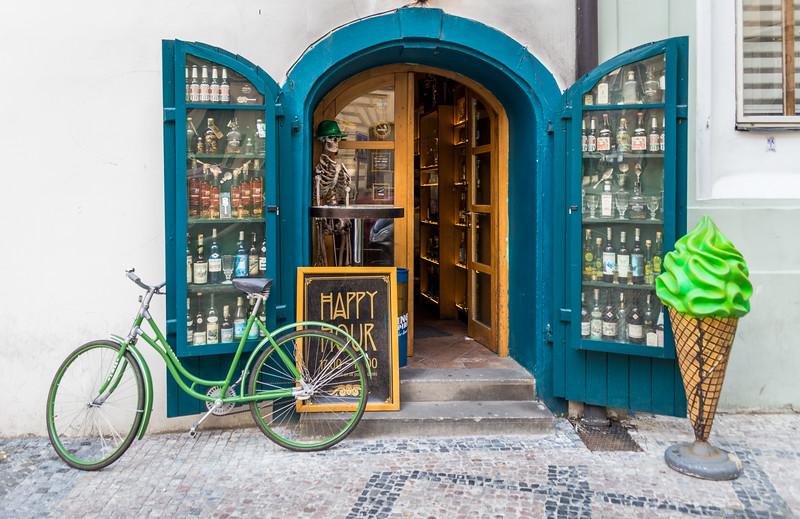 Storefront in Prague