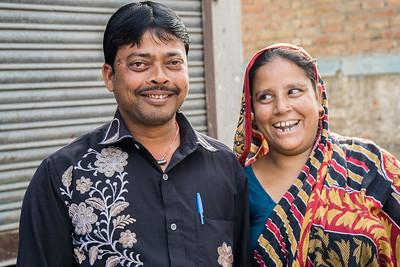 Neighbors of Hasina Bibi's.