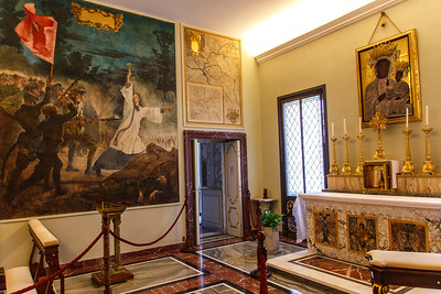 Small private chapel in the Pope's apartment