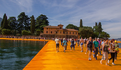 Italy 2016 - Cristo's Floating Piers