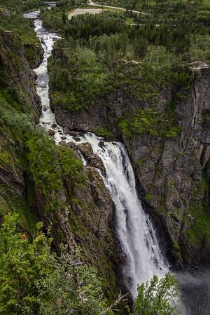 Voringfossen (waterfall) near Eidfjord