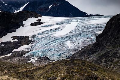 Glacier in Jotunheim NP