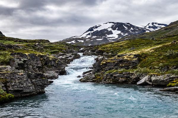 Waterfall in Jotunheim NP