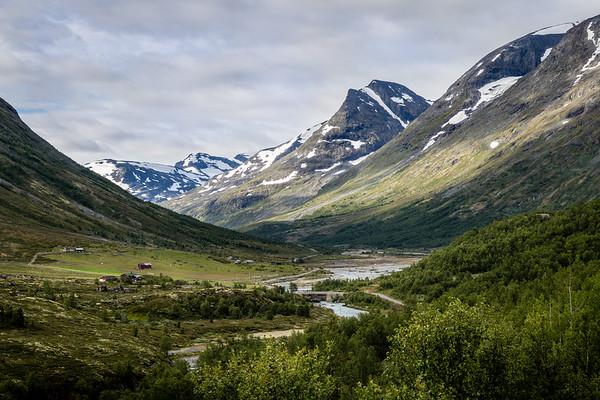 Leirdalsvegen view, Norway