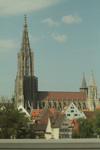 Cathedral in Ulm Germany. I once saw this in an art book in college.