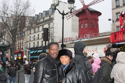 DALE AND I IN FRONT OF MOULIN ROUGE  PARIS