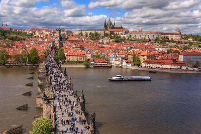 Prague 2017 - Charles Bridge, Rivers & Canals