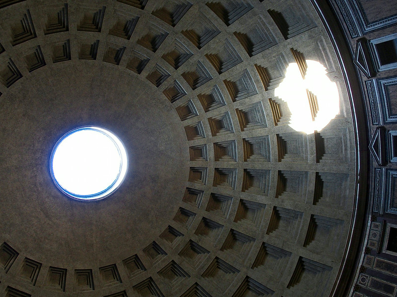 The amazing Pantheon dome