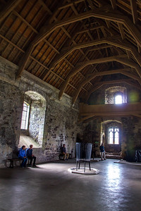 Doune Castle - the great room