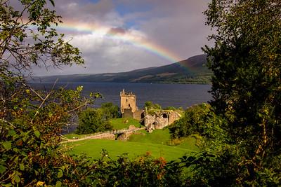 Scotland:  Donan, Doune & Urguhart Castles
