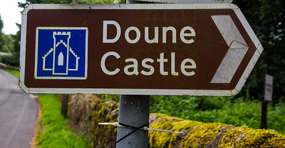 Heading to Doune Castle