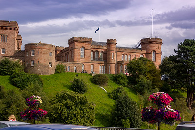 Inverness Castle - restored & reused as government center