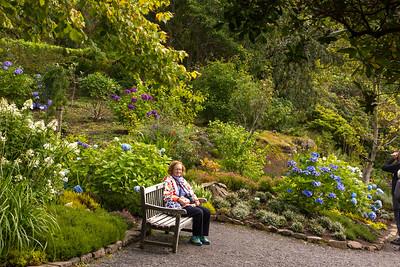 Dunvegan Castle's beautiful garden grounds
