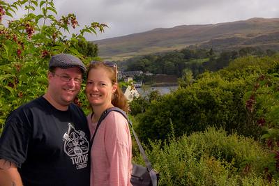 Leslie & Brian (older daughter & son-in-law)