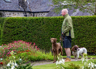 Dunvegan Castle welcomed dogs