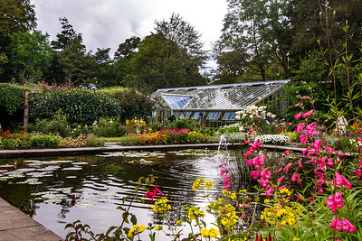 Dunvegan Castle's Walled Garden & Glass House