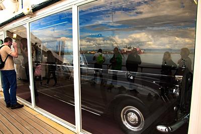 The Queen's Rolls Royce Limousine