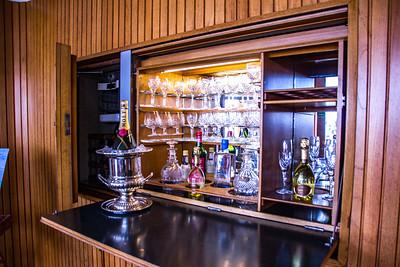 Sitting Room's Liquor Cabinet
