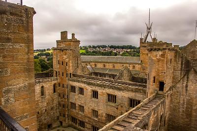 Scotland:  Linlithgow & StirlingCastles
