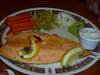 505 trout dinner Caragh Restaurant Killarney