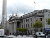 GPO (General Post Office) with Dublin Spire in front