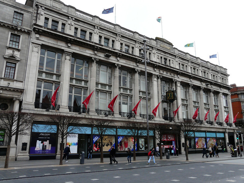 Clery's department store O'Connell St