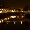 Half Penny Bridge over River Liffey