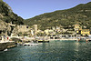 A view as we walk from the dock to the main village. Monterosso has a beach as shown here.