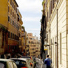 THE FABRIC ON AND ALONG THE STREETS OF ROME