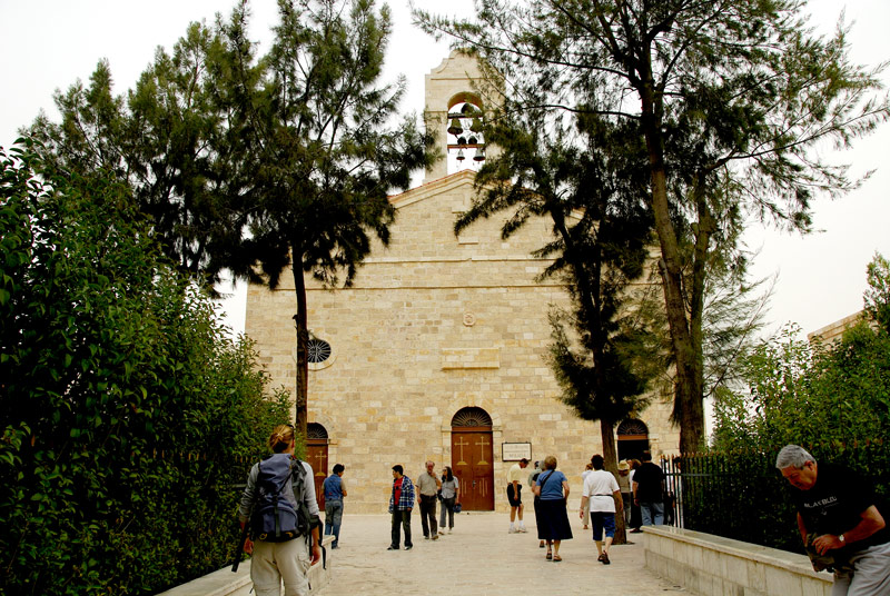 This is the contemporary Greek Orthodox Church of St. George.